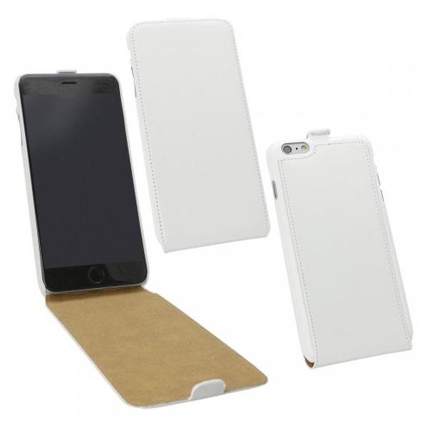 Pouzdro flip na Apple iPhone 6 Plus OZBO FLIP Premium bílé
