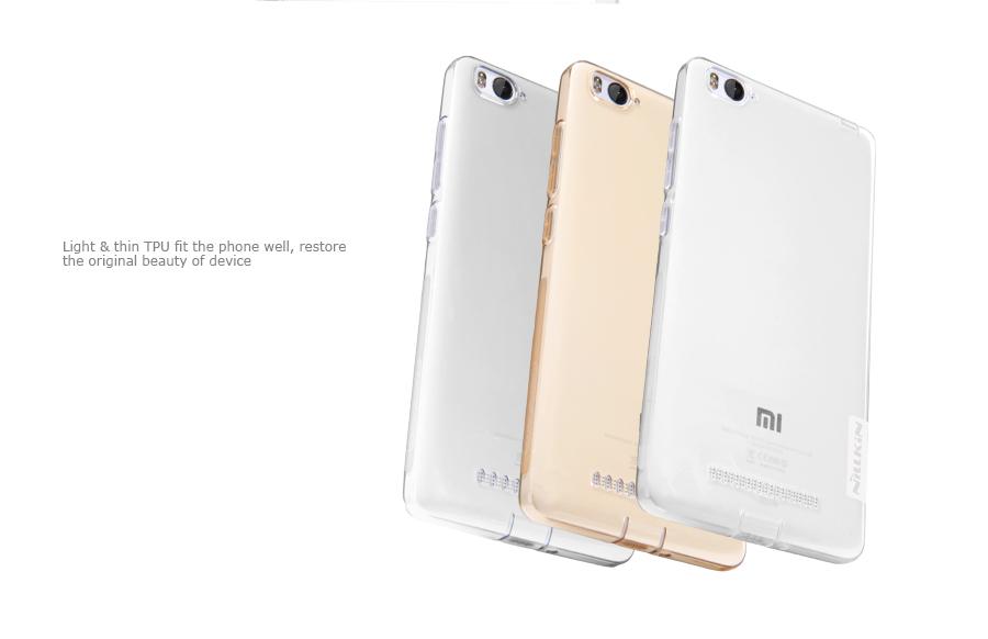 Silikonové pouzdro Nillkin Nature pro Xiaomi Mi4i