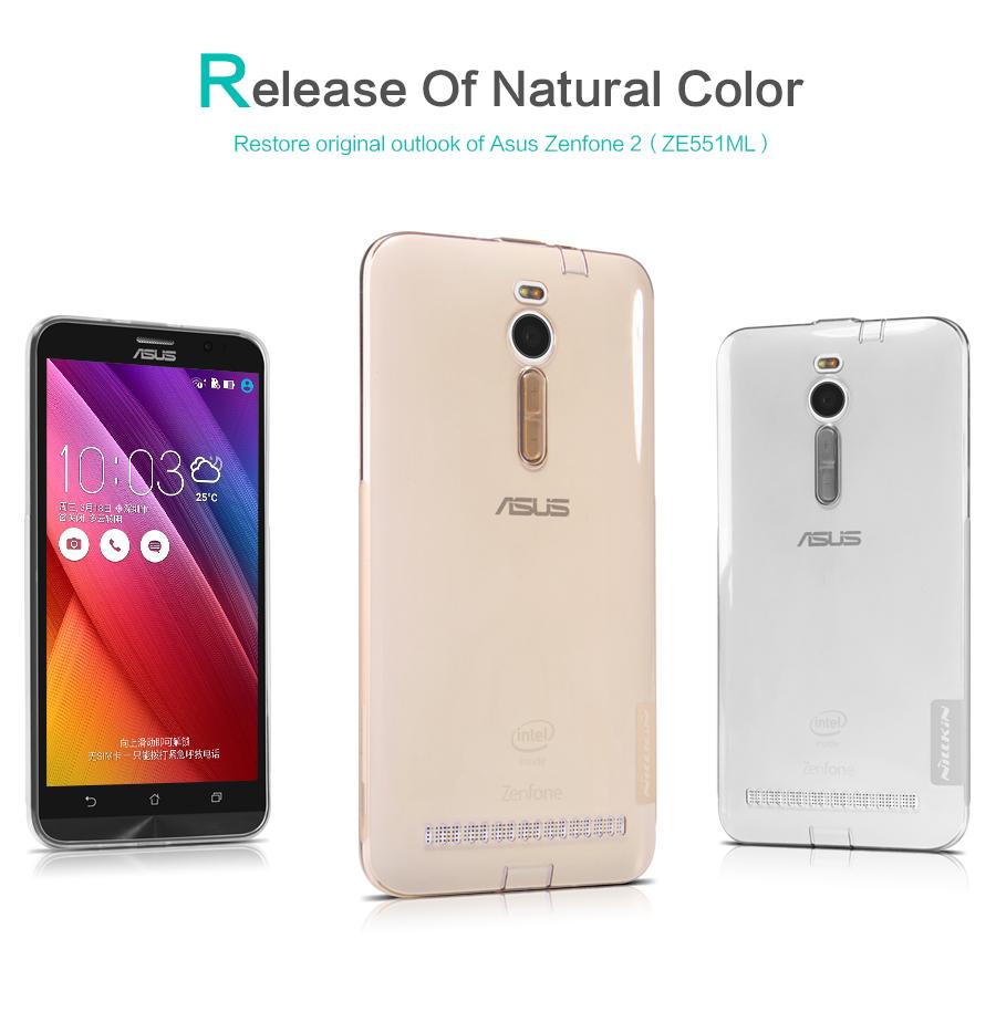 Silikonové pouzdro Nillkin Nature pro Asus Zenfone 2 ZE551ML
