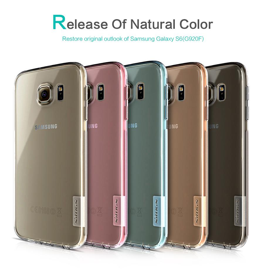 Silikonové pouzdro Nillkin Nature na Samsung Galaxy S6 (G920)