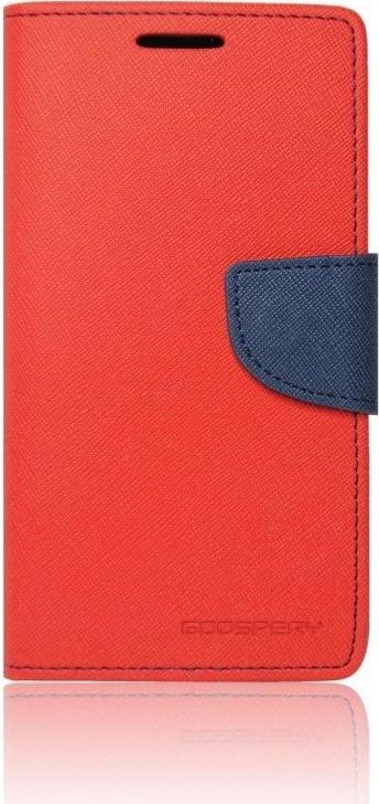 Pouzdro na Samsung Galaxy Grand Prime Mercury Fancy červená