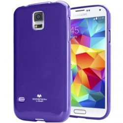 Pouzdro na Samsung Galaxy J100 Mercury Jelly fialové