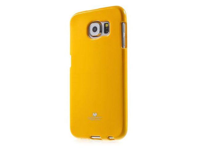 Pouzdro na Samsung Galaxy J100 Mercury Jelly žluté