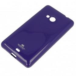 Pouzdro na Microsoft Lumia 535 Mercury Jelly fialové