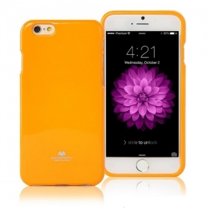Pouzdro na Microsoft Lumia 535 Mercury Jelly žluté