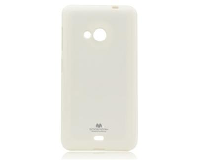 Pouzdro na Micsrosoft Lumia 535 Mercury Jelly bílé