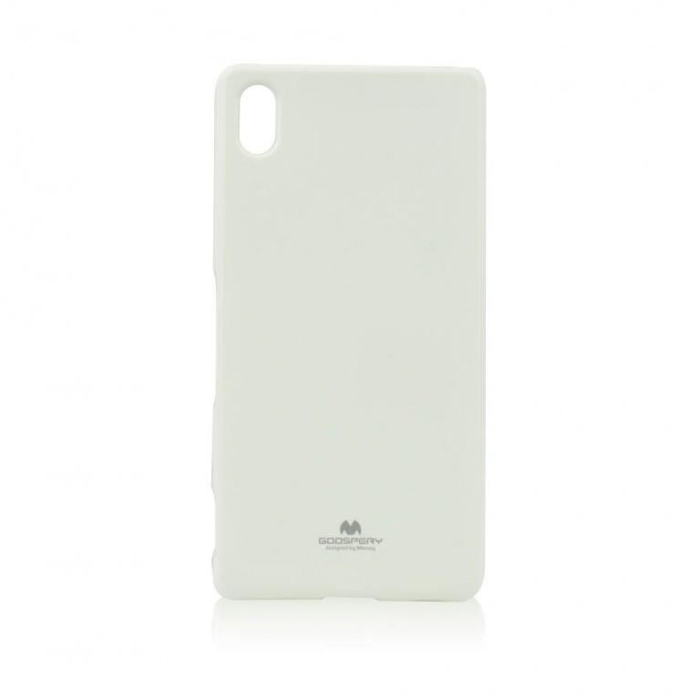 Pouzdro na Sony Xperia M4 Aqua Mercury Jelly bílé