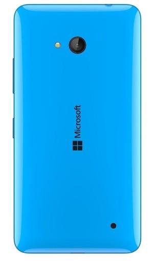 Zadní kryt baterie na Microsoft Lumia 640 cyan