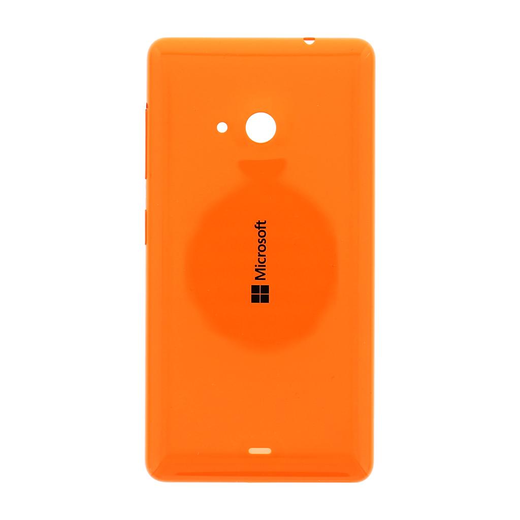 Zadní kryt baterie na Nokia Lumia 535 oranžový