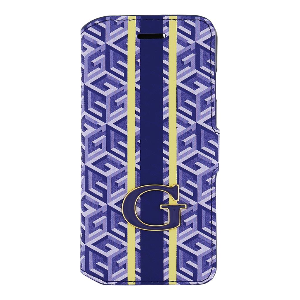 "Pouzdro na iPhone 6, 4.7"" Guess G-Cube GUFLBKP6GCUBL modré"