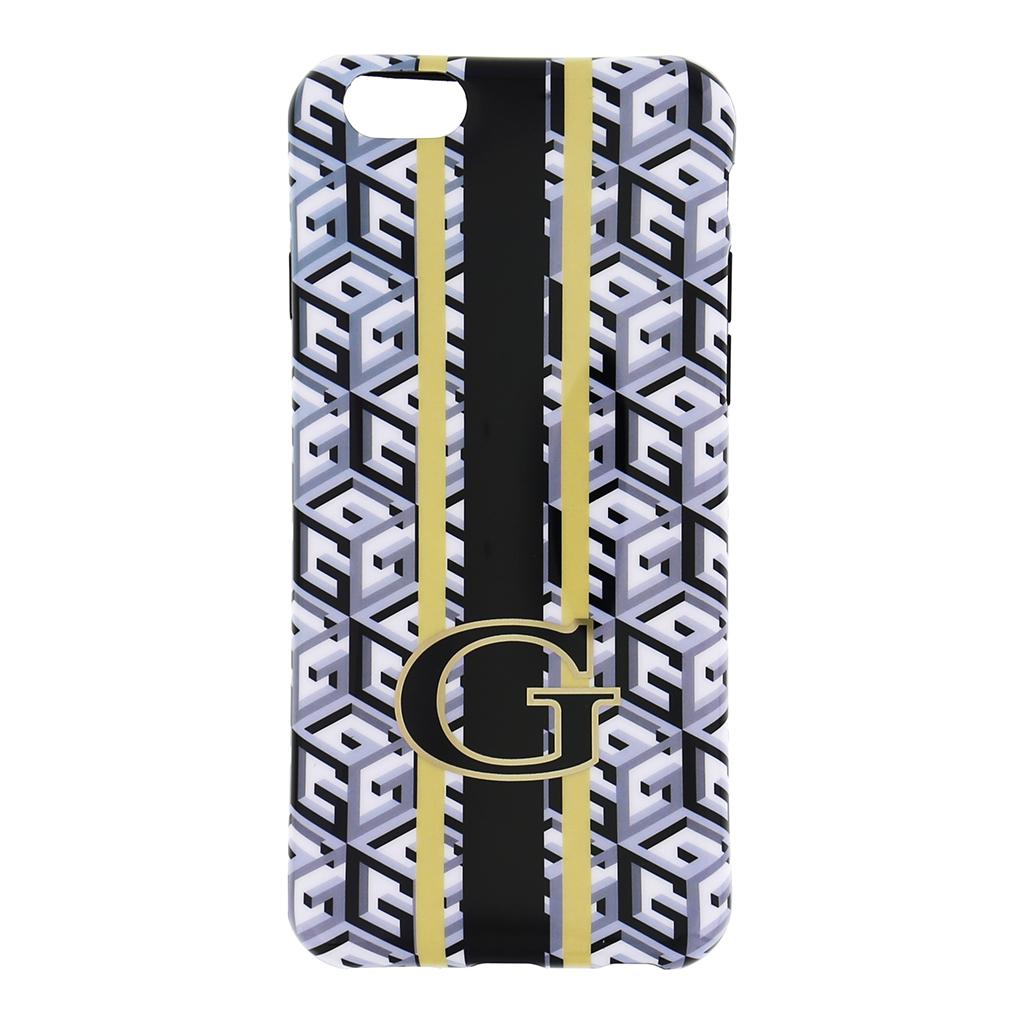 """Silikonové pouzdro na iPhone 6, 4.7"""" Guess G-Cube GUHCP6GCUBK černé"""