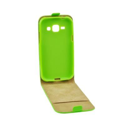 Pouzdro flip Samsung Galaxy Xcover 3 ForCell Slim Flexi zelené