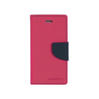Pouzdro na mobil Samsung Alpha Mercury Fancy růžové/modré