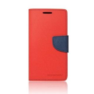 Pouzdro na mobil Samsung Alpha Mercury Fancy červené