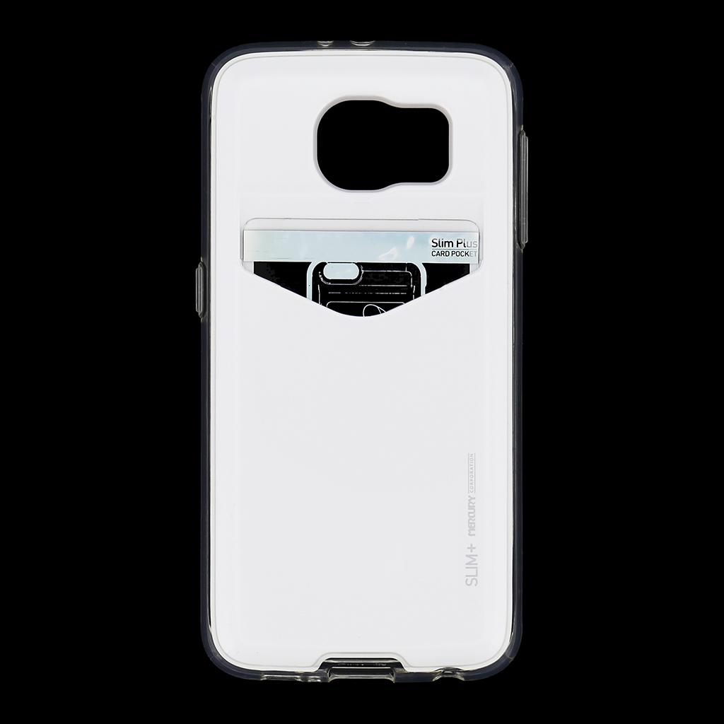 Zadní kryt na Samsung Galaxy S6 Mercury Slim Plus bílé
