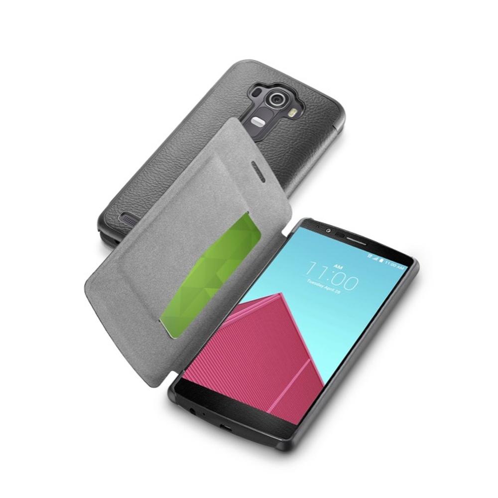 Pouzdro flip na LG G4 CellularLine Book Essential černé