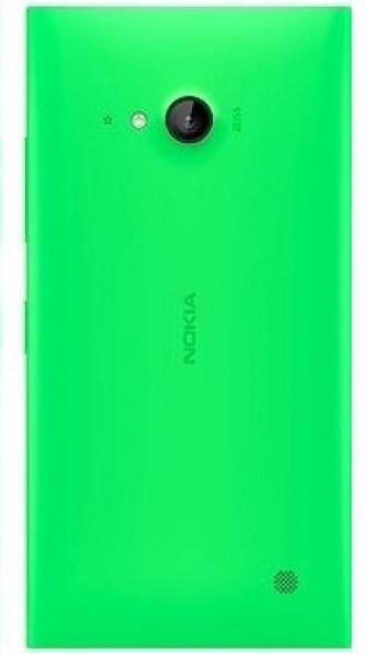 Zadní kryt baterie na Nokia Lumia 730 zelený