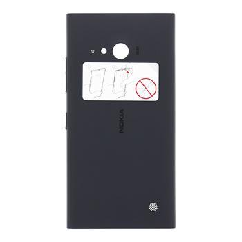 Zadní kryt baterie na Nokia Lumia 730 tmavě šedý