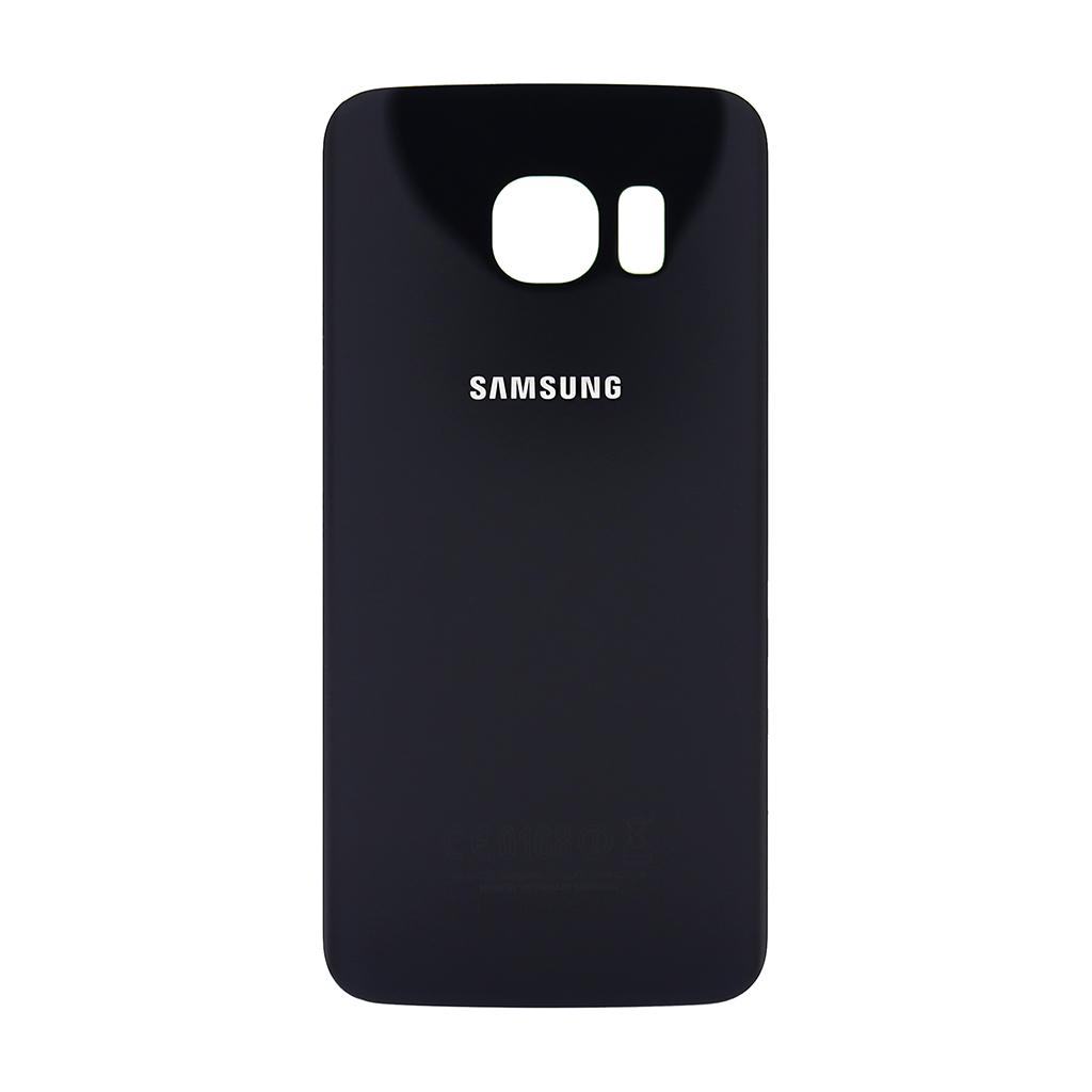 Zadní kryt baterie na Samsung Galaxy S6 G925 Edge černý