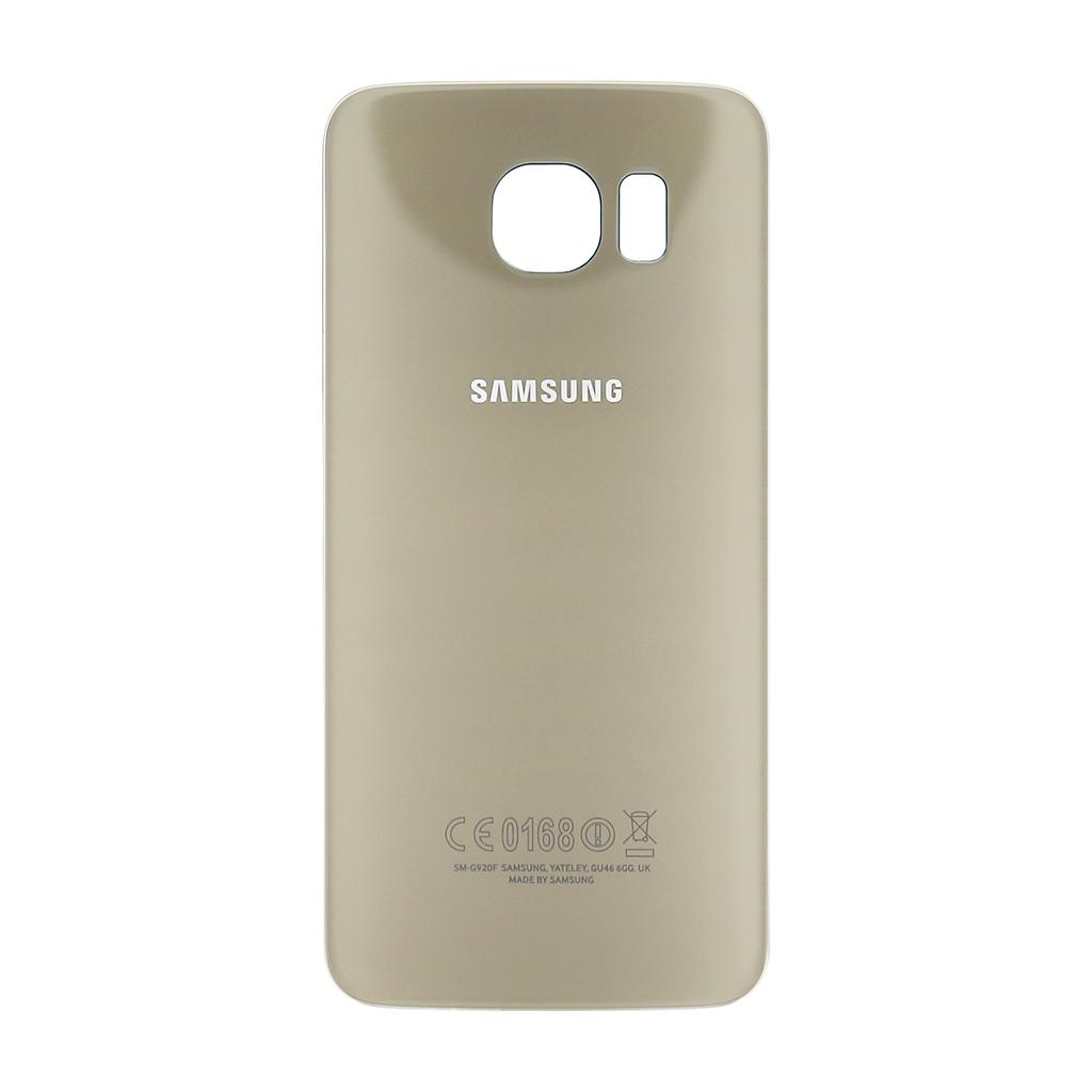 Zadní kryt baterie na Samsung Galaxy S6 G920 zlatý
