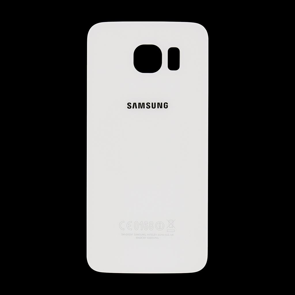 Zadní kryt baterie na Samsung Galaxy S6 G920 bílý