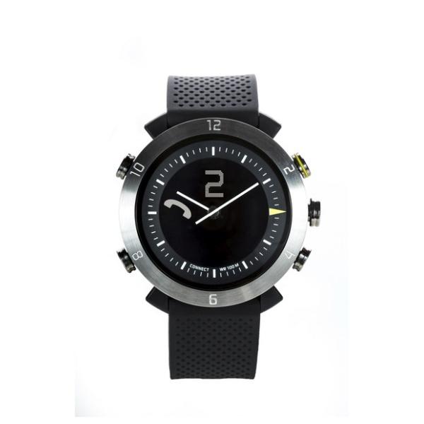 Bluetooth hodinky COGITOwatch 2.0 Classic Silver Arrow, černostříbrné