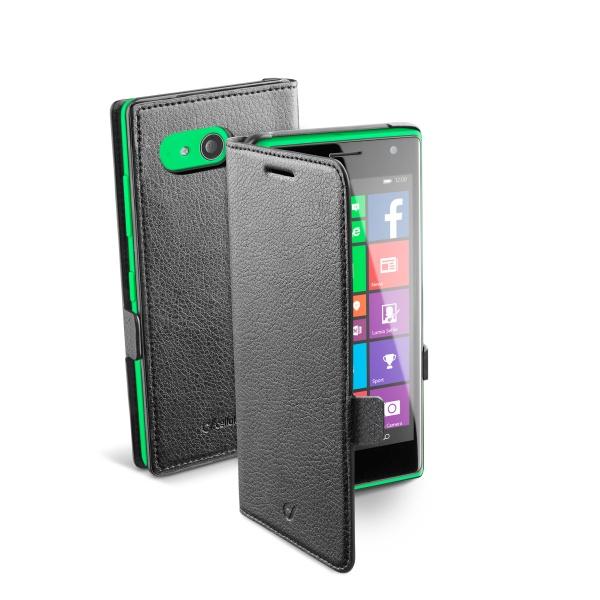 Pouzdro flip Nokia Lumia 735 CellularLine Book Essential černé