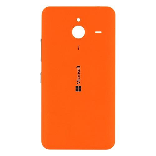 Zadní kryt baterie na Microsoft Lumia 640 XL oranžový
