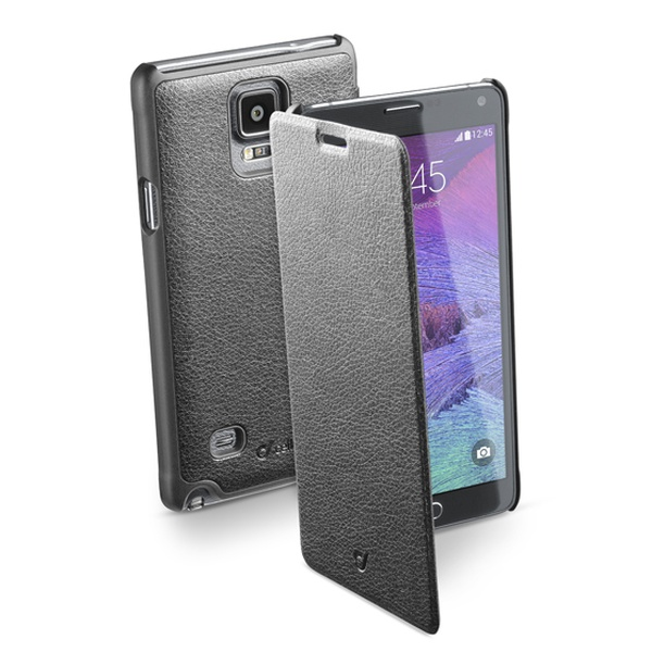 Pouzdro flip Samsung Galaxy Note 4 CellularLine Book Essential černé