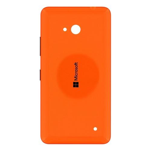Zadní kryt baterie na Microsoft Lumia 640 oranžový