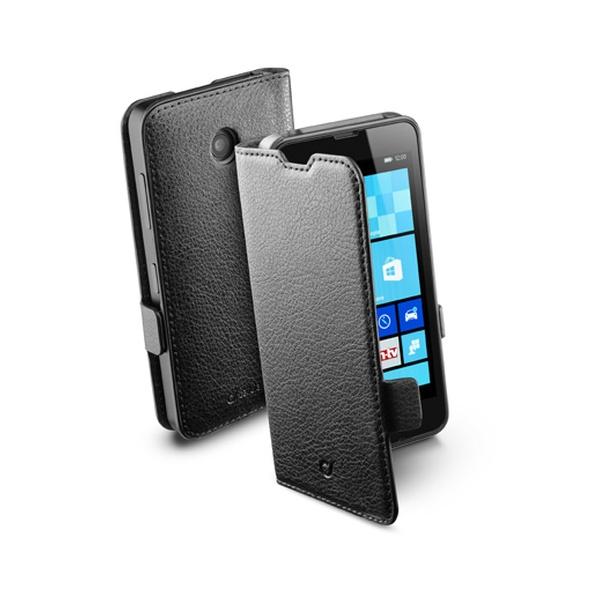 Pouzdro flip Nokia Lumia 630 CellularLine Book Essential černé