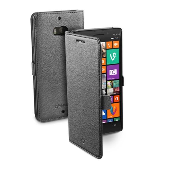 Pouzdro flip Nokia Lumia 930 CellularLine Book Essential černé