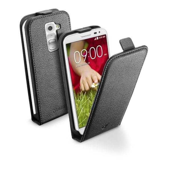 Pouzdro flip na LG G2 Mini CellularLine Essential černé