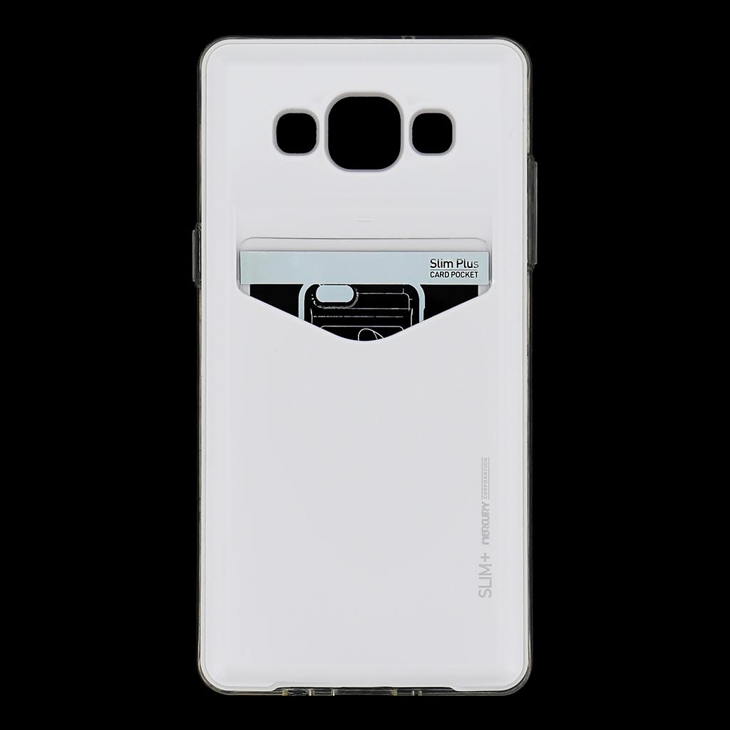 Zadní kryt na Samsung Galaxy A5 Mercury Slim Plus bílé