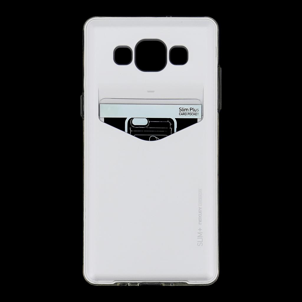 Zadní kryt na Samsung Galaxy A5 Mercury Slim Plus stříbrné