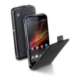 Pouzdro flip na Sony Xperia Z1 CellularLine černé