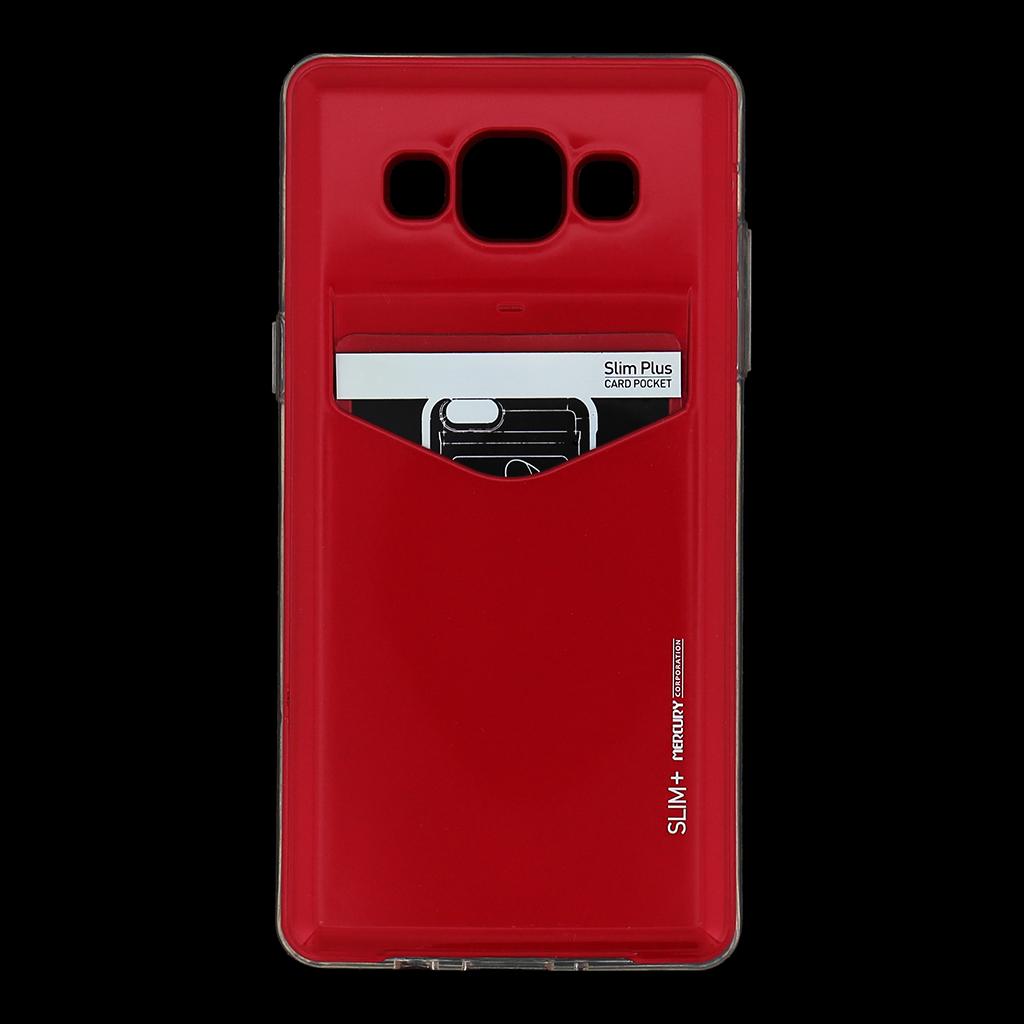 Zadní kryt na Samsung Galaxy A5 Mercury Slim Plus červené