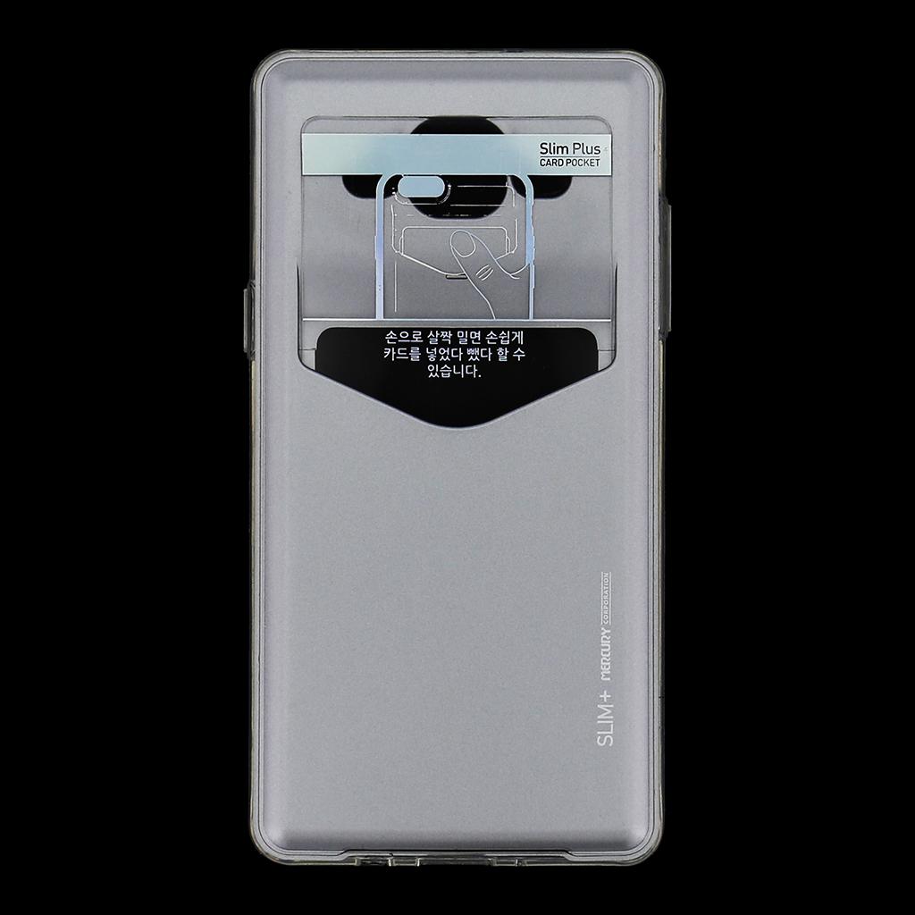 Zadní kryt na Samsung Galaxy A5 Mercury Slim Plus šedé