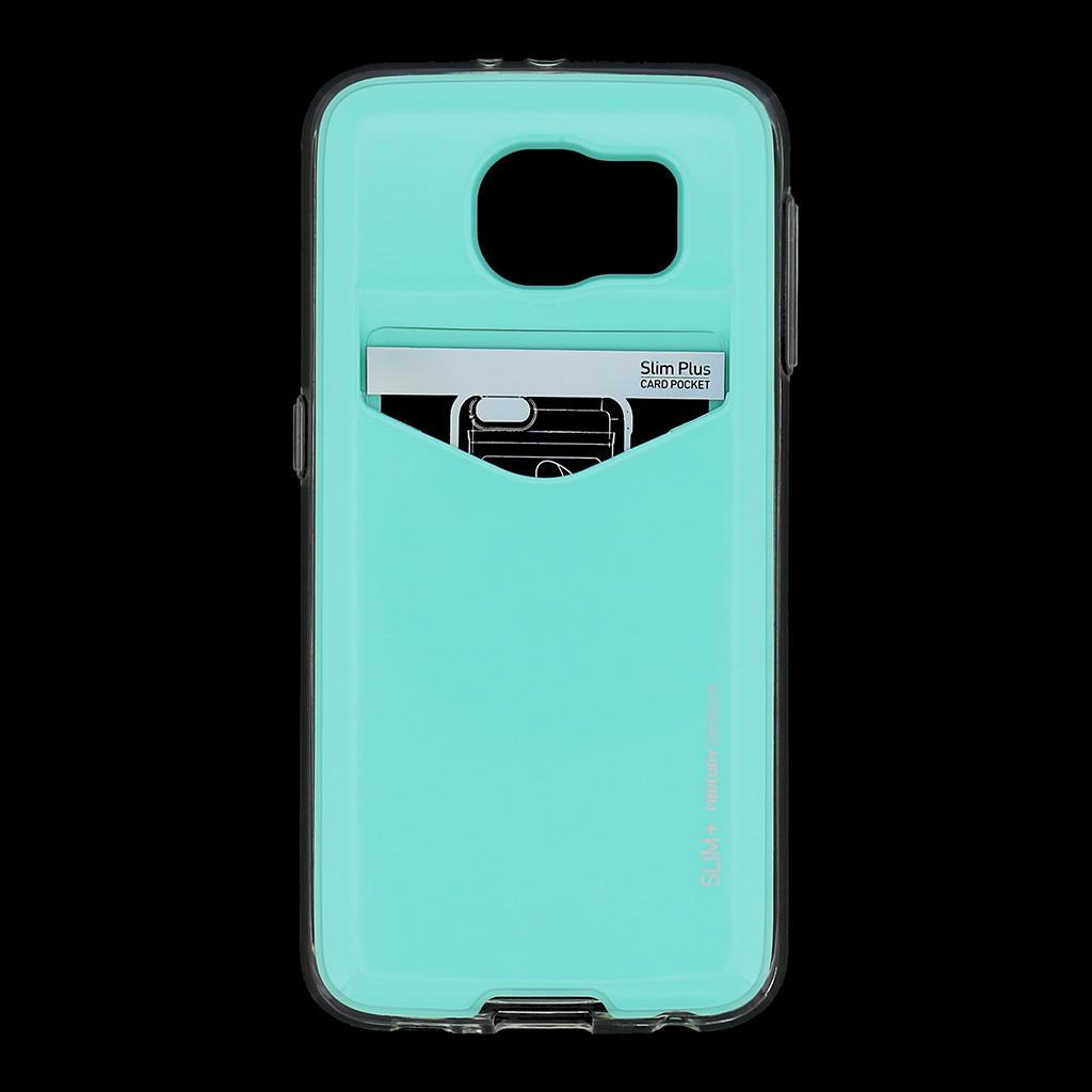 Zadní kryt na Samsung Galaxy S6 Mercury Slim Plus modré
