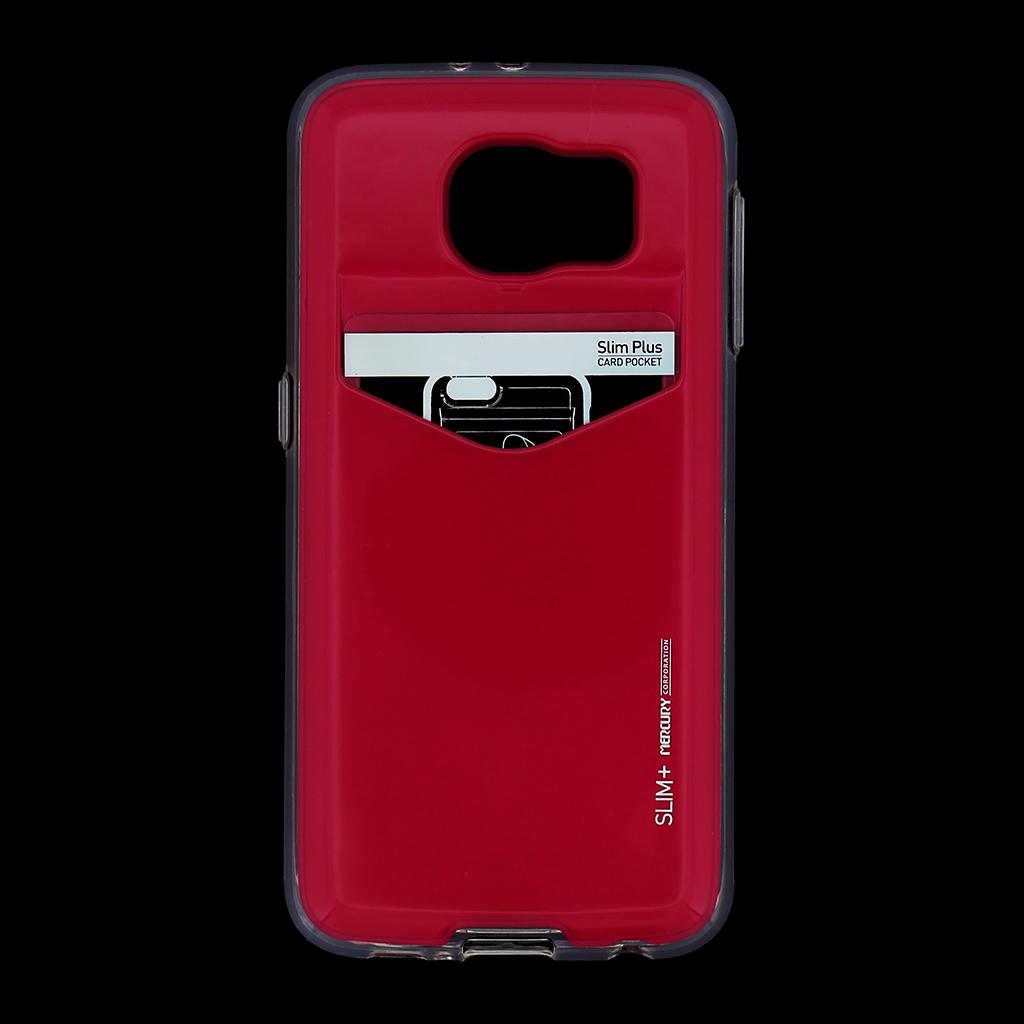 Zadní kryt na Samsung Galaxy S6 Mercury Slim Plus růžové