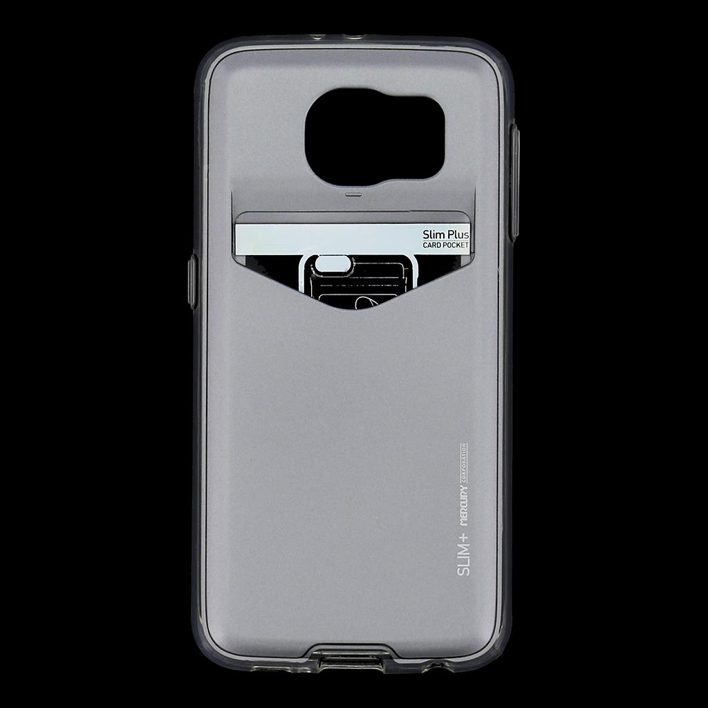 Zadní kryt na Samsung Galaxy S6 Mercury Slim Plus šedé