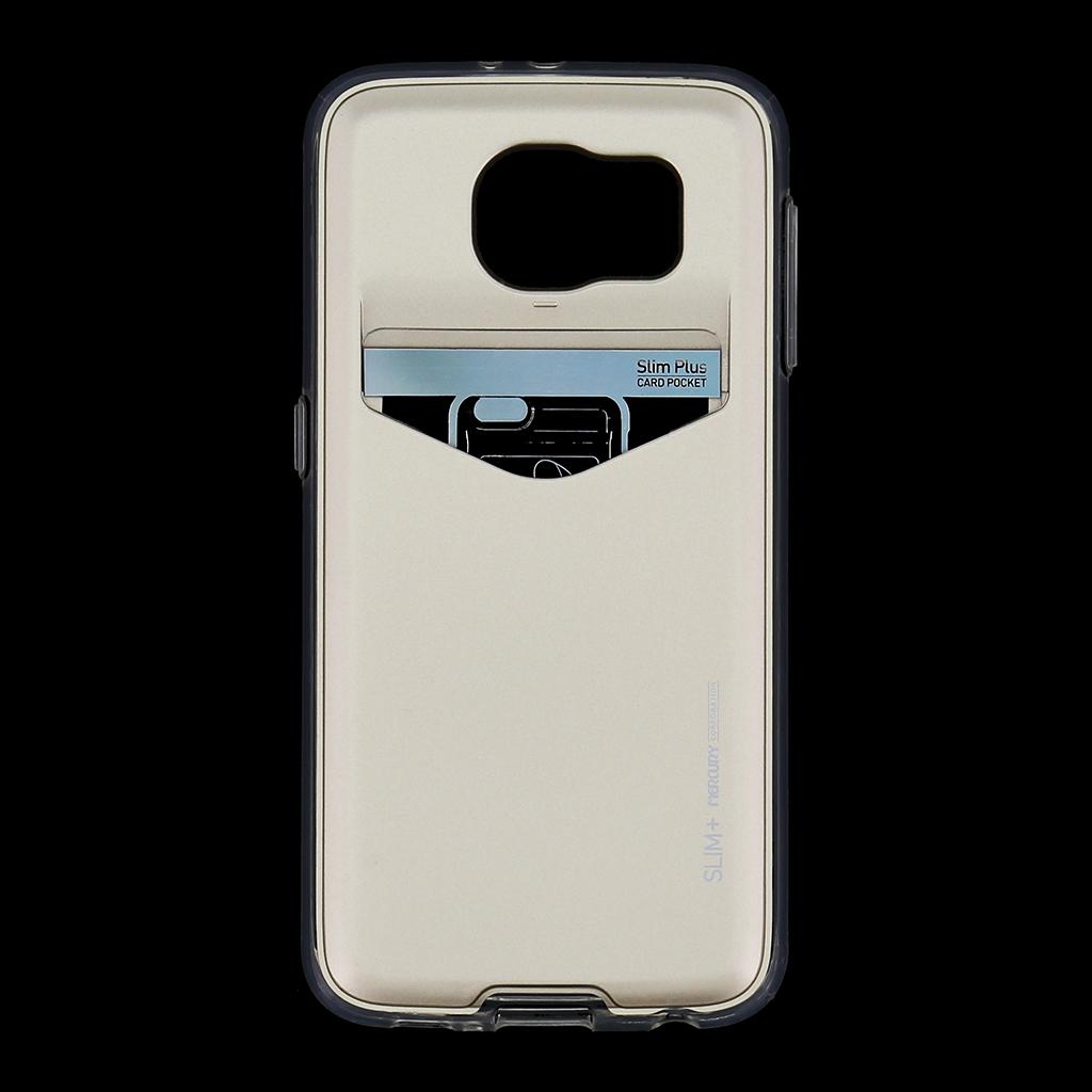 Zadní kryt na Samsung Galaxy S6 Mercury Slim Plus zlaté