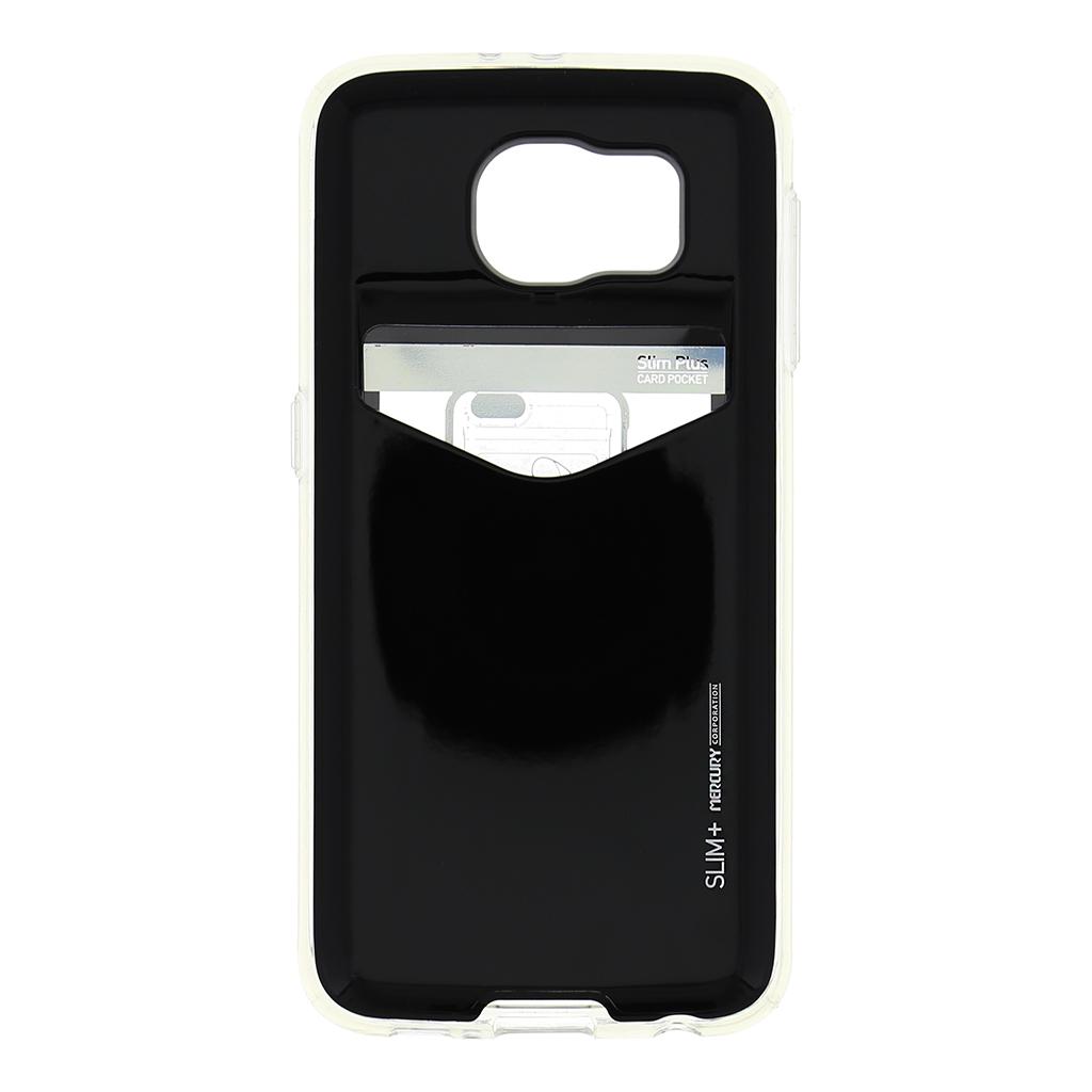 Zadní kryt na Samsung Galaxy S6 Mercury Slim Plus černé