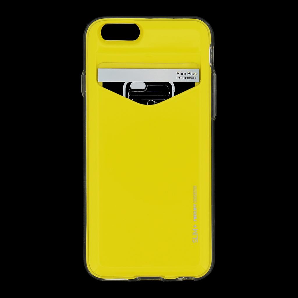Zadní kryt na iPhone 6, 4.7 Mercury Slim Plus žluté
