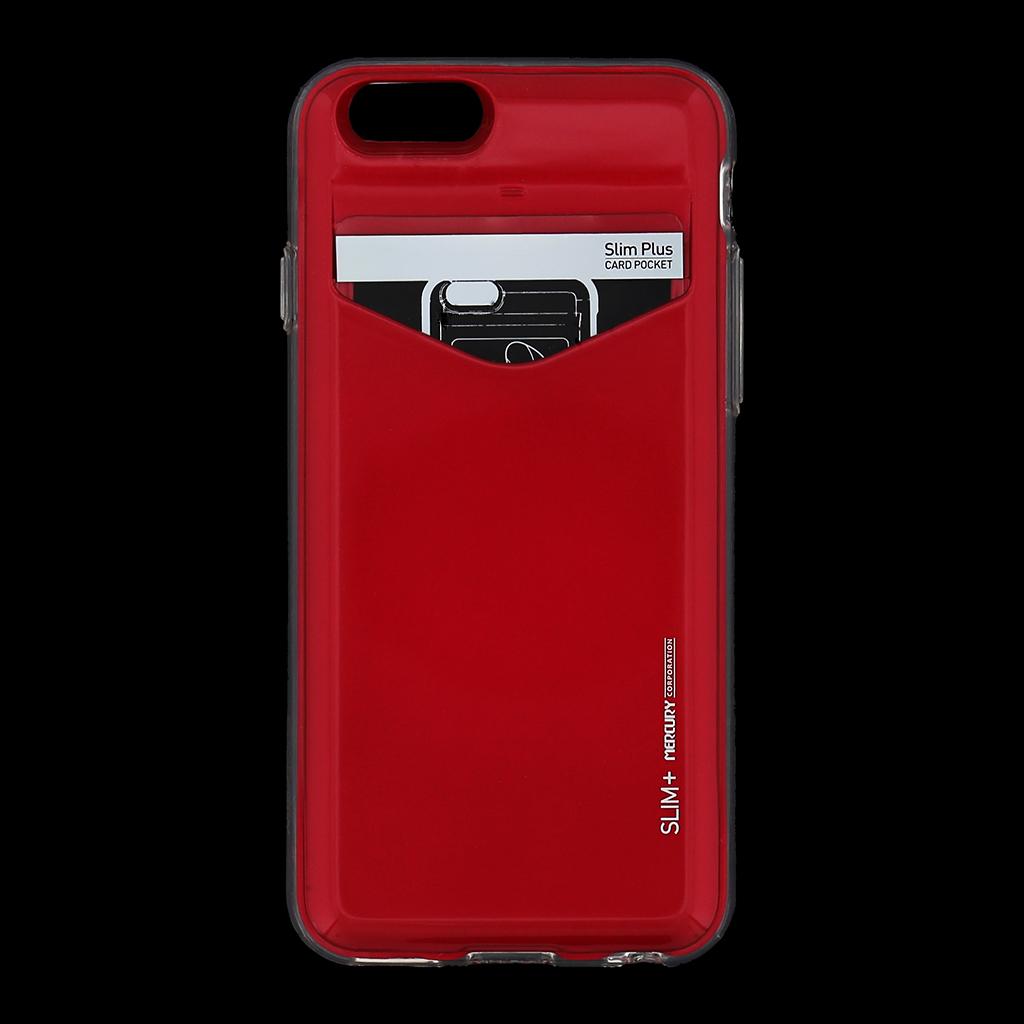Zadní kryt na iPhone 6, 4.7 Mercury Slim Plus červené