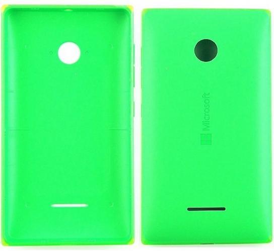 Zadní kryt baterie na Microsoft Lumia 532 zelený