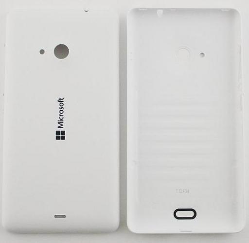 Zadní kryt baterie na Microsoft Lumia 532 bílý