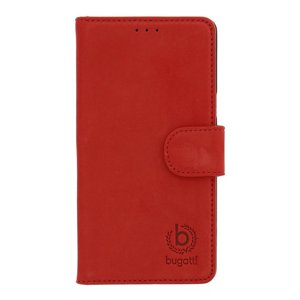 Pouzdro book na Samsung Galaxy S6 Bugatti Madrid červené