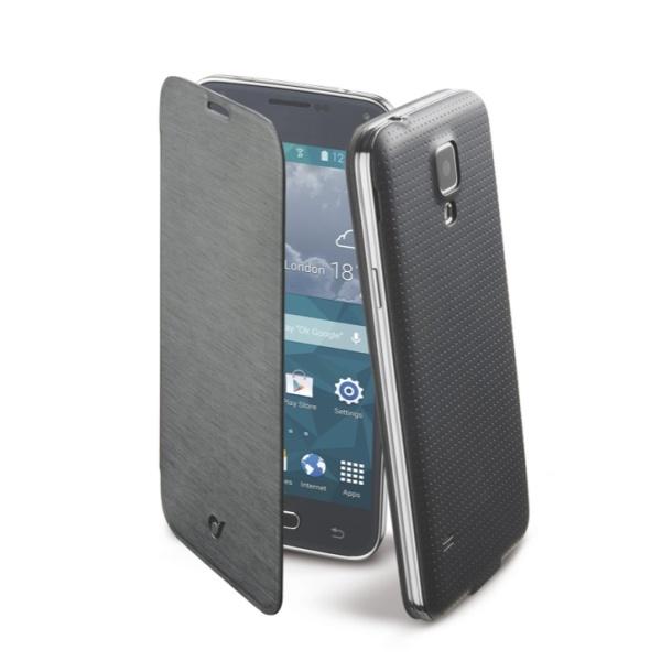 Pouzdro flip Samsung Galaxy S5 Mini CellularLine Backbook černé
