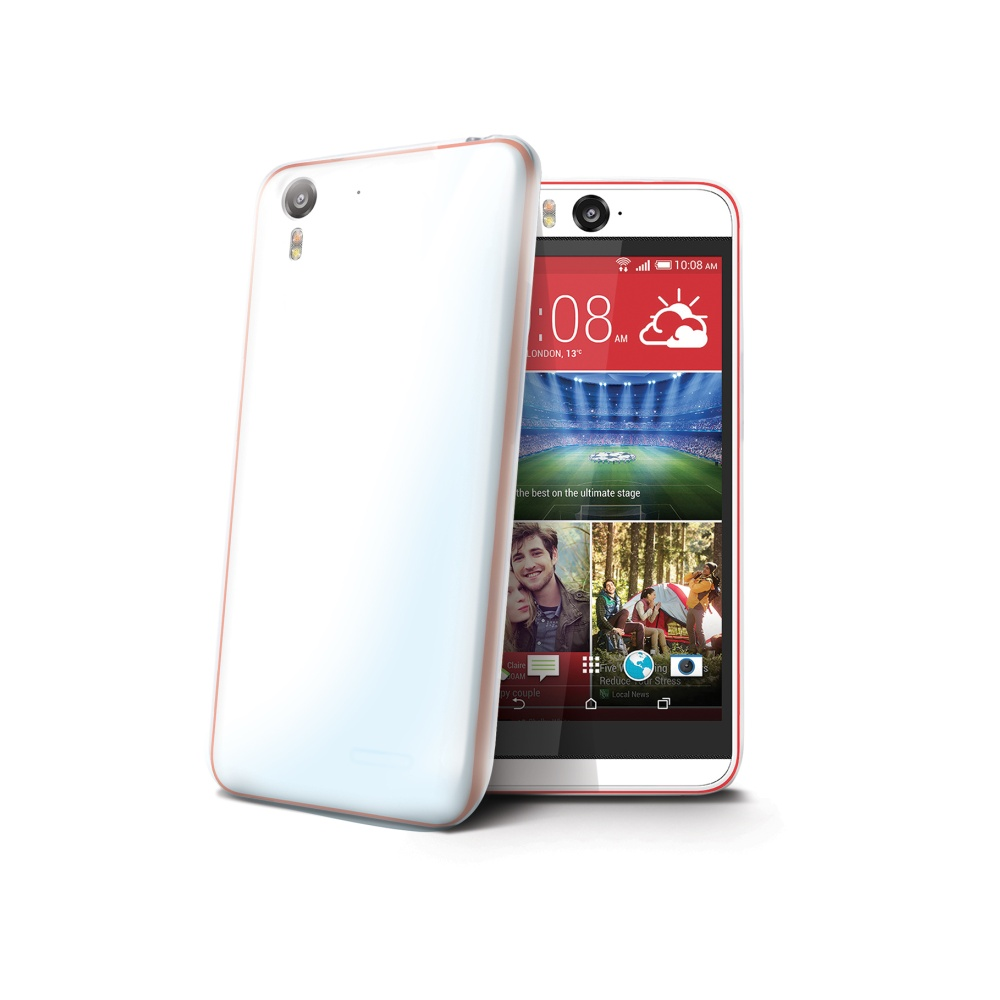 Silikonové TPU pouzdro CELLY Gelskin pro HTC Desire Eye bezbarvé